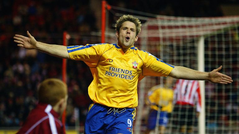 James Beattie was prolific in 2002-03 for Southampton