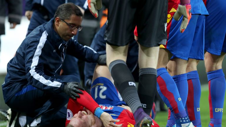 Wickham has not played Premier League football since rupturing his cruciate against Swansea in November 2016
