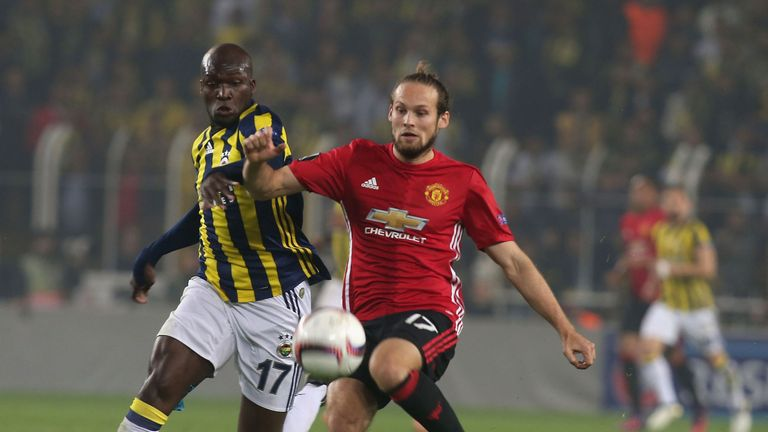Daley Blind has been Man Utd's utility man in 2016