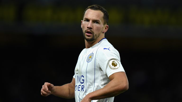 WATFORD, ENGLAND - NOVEMBER 19:  Danny Drinkwater of Leicester City during the Premier League match between Watford and Leicester City at Vicarage Road on