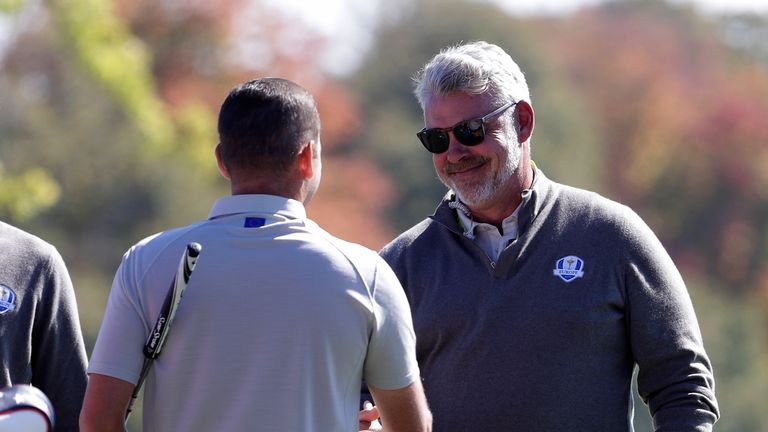 Sergio Garcia says Darren Clarke was not to blame for Europe's defeat
