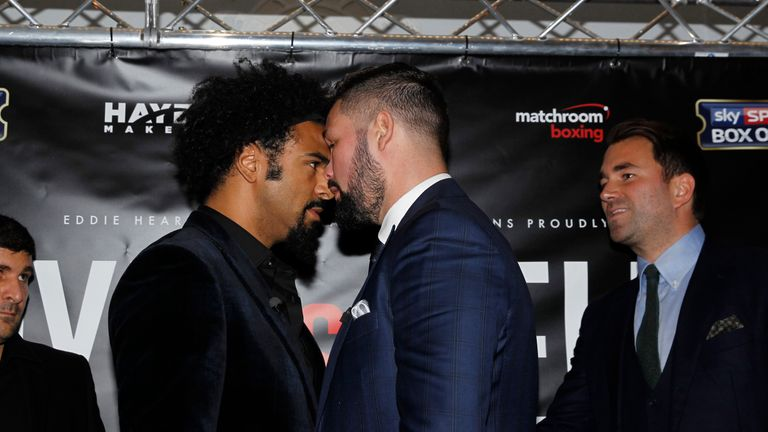 Haye and Bellew will get to settle their rivalry on March 4