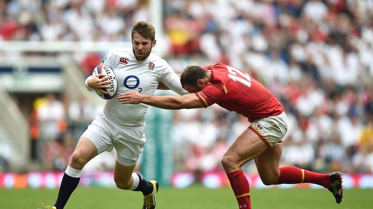 Elliot Daly will make his first start for England against South Africa