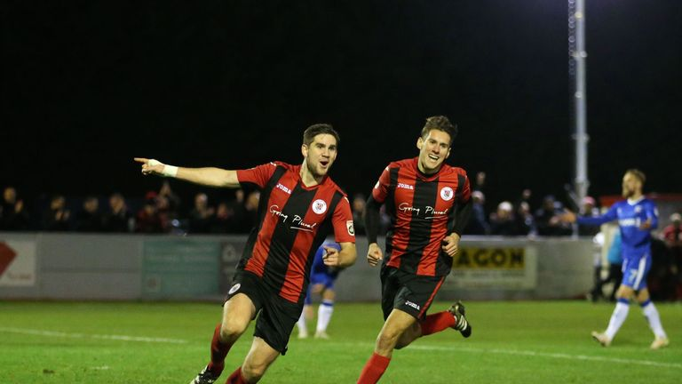 Brackley Town have progressed through to face in the next round