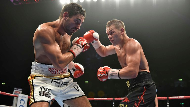 The north Londoner shared a gruelling fight with Fedor Chudinov
