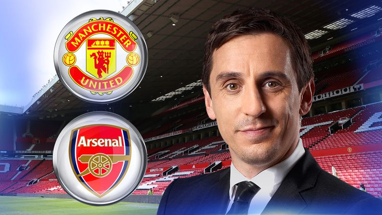 Gary Neville previews Man Utd's clash with Arsenal on Saturday, live on Sky Sports
