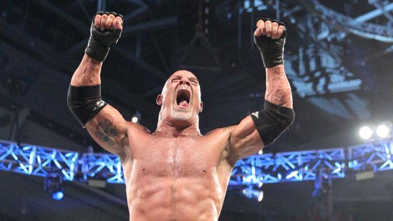 Goldberg seems to have Brock Lesnar's number
