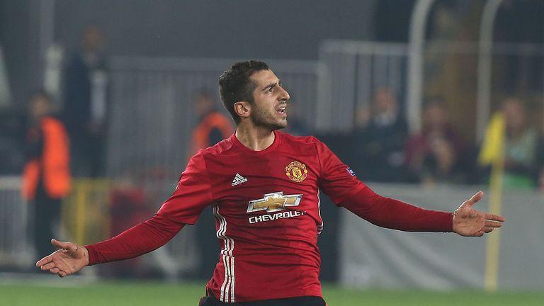Henrikh Mkhitaryan has struggled to make an impact for United this season so far