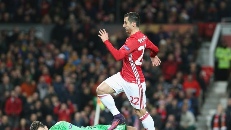 Henrikh Mkhitaryan is highly rated by Paul Merson