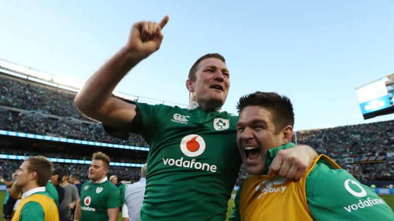 After 111 years, Ireland finally gained their victory over New Zealand