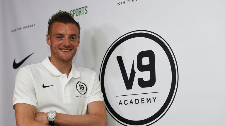 Jamie Vardy's V9 Academy has signed its first three non-league players