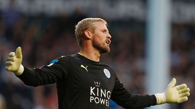 Kasper Schmeichel says surgery on his hand 'went well'
