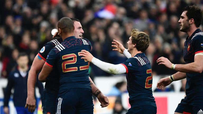 Louis Picamoles's try brought France back into the game