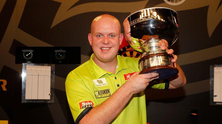 Michael van Gerwen won the Grand Slam of Darts last year
