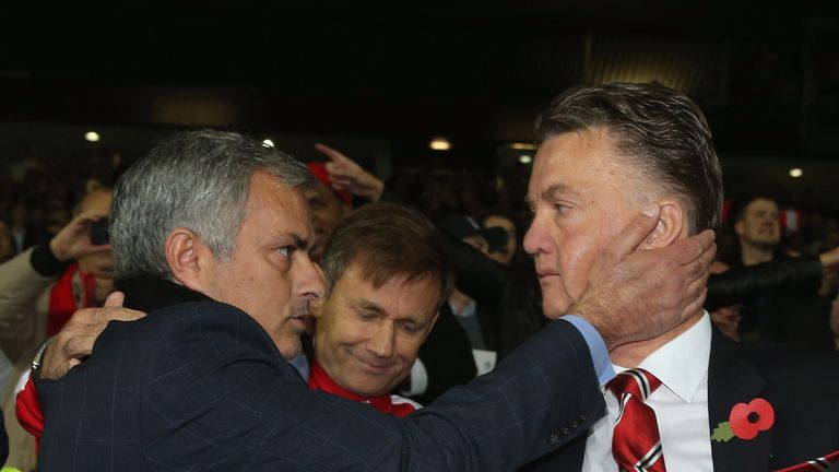 Mourinho replaced van Gaal at Old Trafford, but the Dutchman said he did not blame him for his departure
