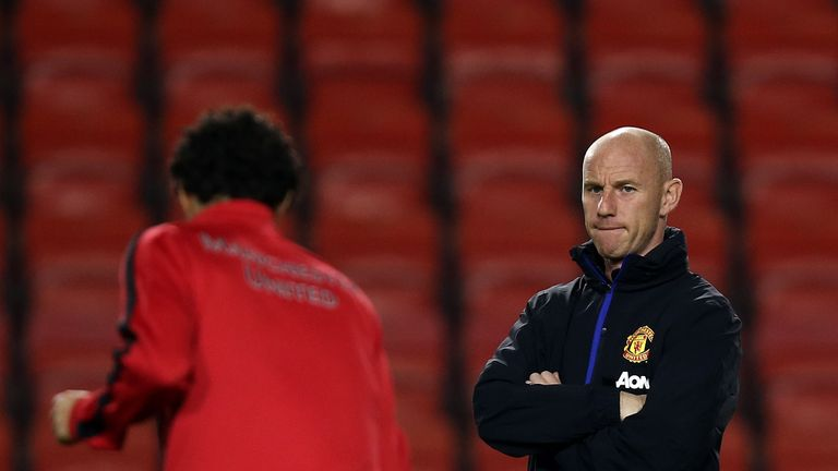 Anderson will report to Manchester United head of coaching Nicky Butt