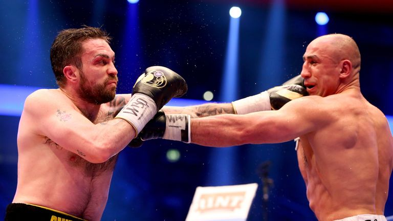 Smith suffered two points defeats in WBO title fights against Arthur Abraham