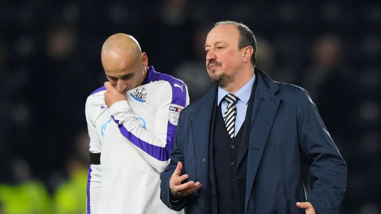 Rafa Benitez signed Jonjo Shelvey when he was in charge of Liverpool