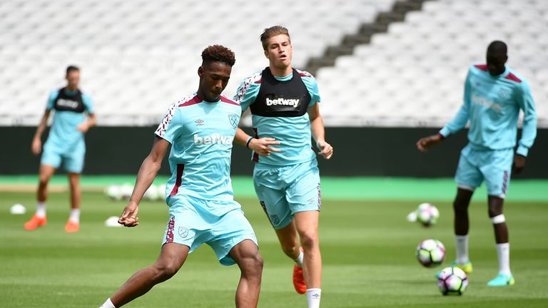 Reece Oxford made his Premier League debut at the age of 16