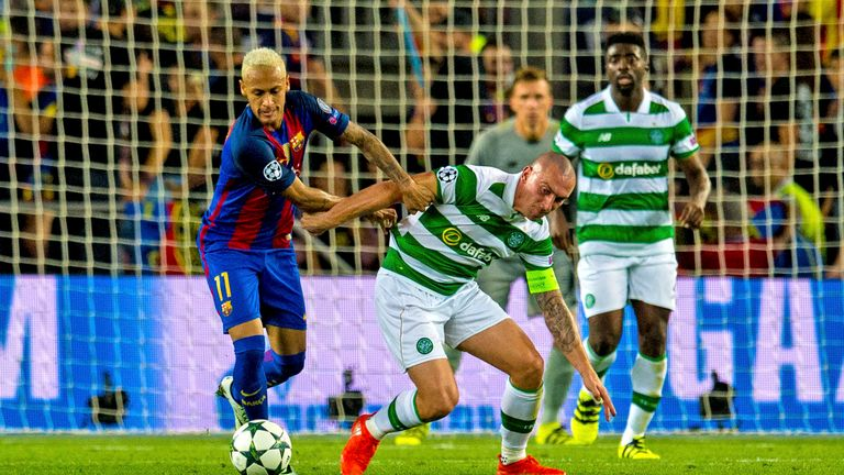 Celtic are aiming to get back to the Champions League group phase after taking on Barcelona at that stage last season