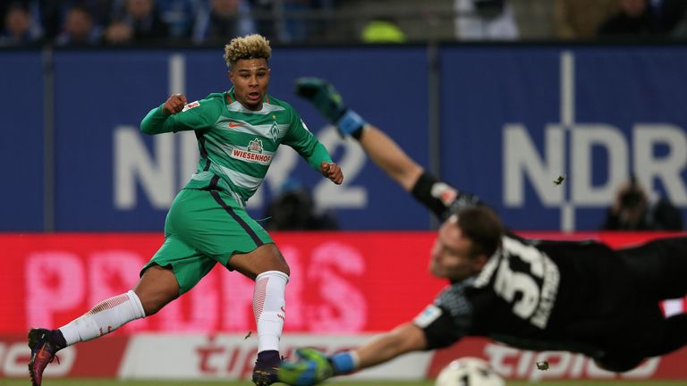 Serge Gnabry has impressed for Werder Bremen since making the move from Arsenal