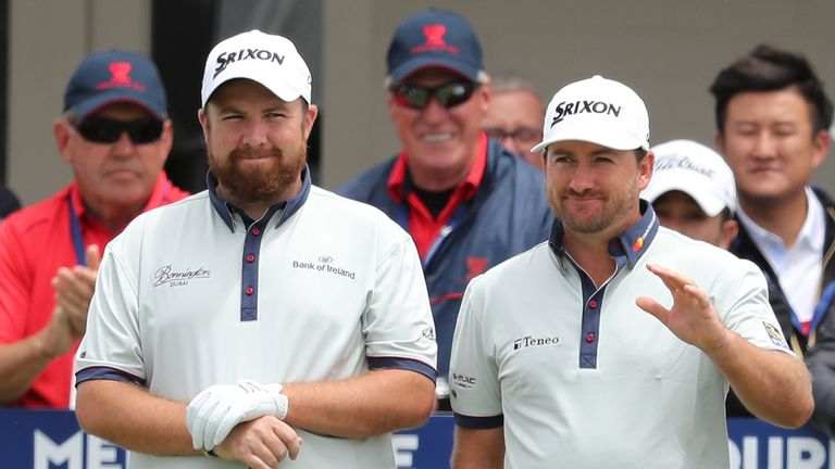 Lowry and McDowell are representing Ireland this week