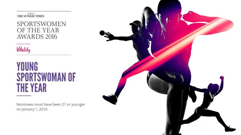 The Sportswomen winners will be revealed on December 8