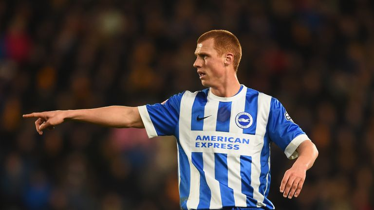 Sidwell had been struggling with a back injury with Brighton last term