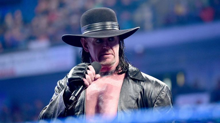 The Undertaker has 23 wins from 24 WrestleMania matches