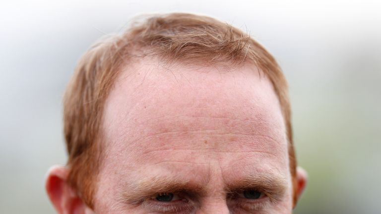 Trainer David O'Meara  - fancied to be among the winners on Thursday