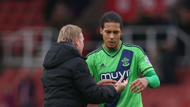 Southampton S Virgil Van Dijk Admits To Continued Contact With Everton Boss Ronald Koeman Football News Sky Sports