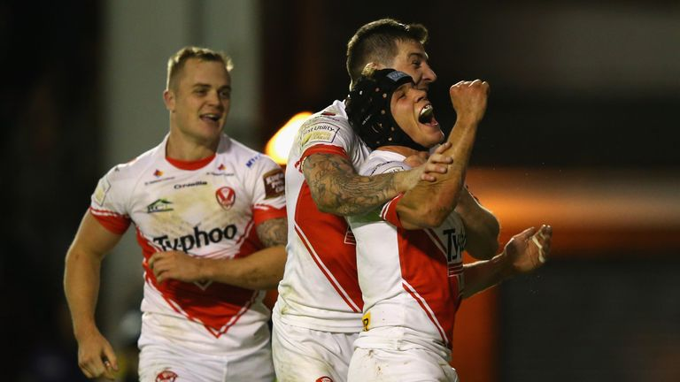 St Helens finished fourth in last year's Super League, qualifying for the Super 8s event