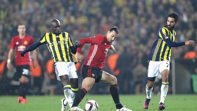 e5c089675 Zlatan Ibrahimovic endured another frustrating evening for Manchester United