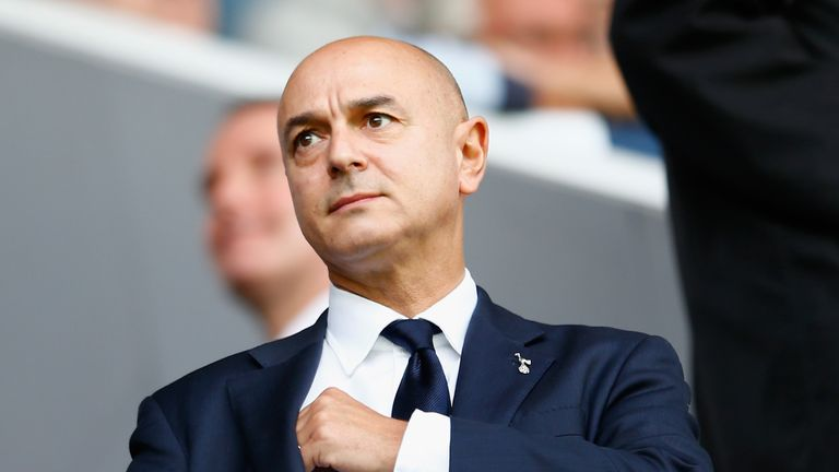 Tottenham chairman Daniel Levy left it late before entering the transfer market