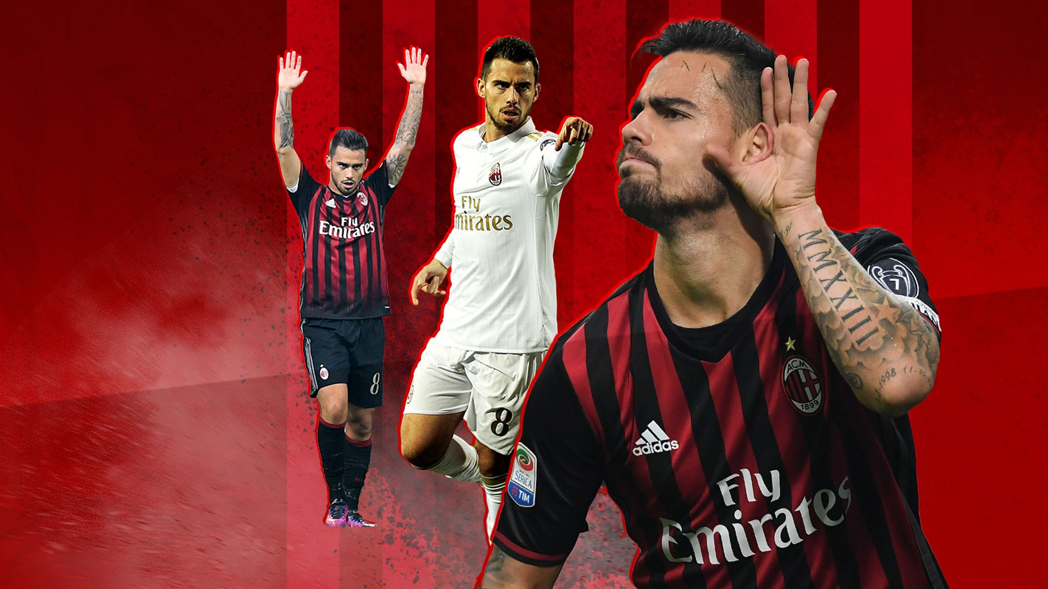 Suso Starring For Ac Milan Ex Liverpool Player Thriving In Italy Football News Sky Sports