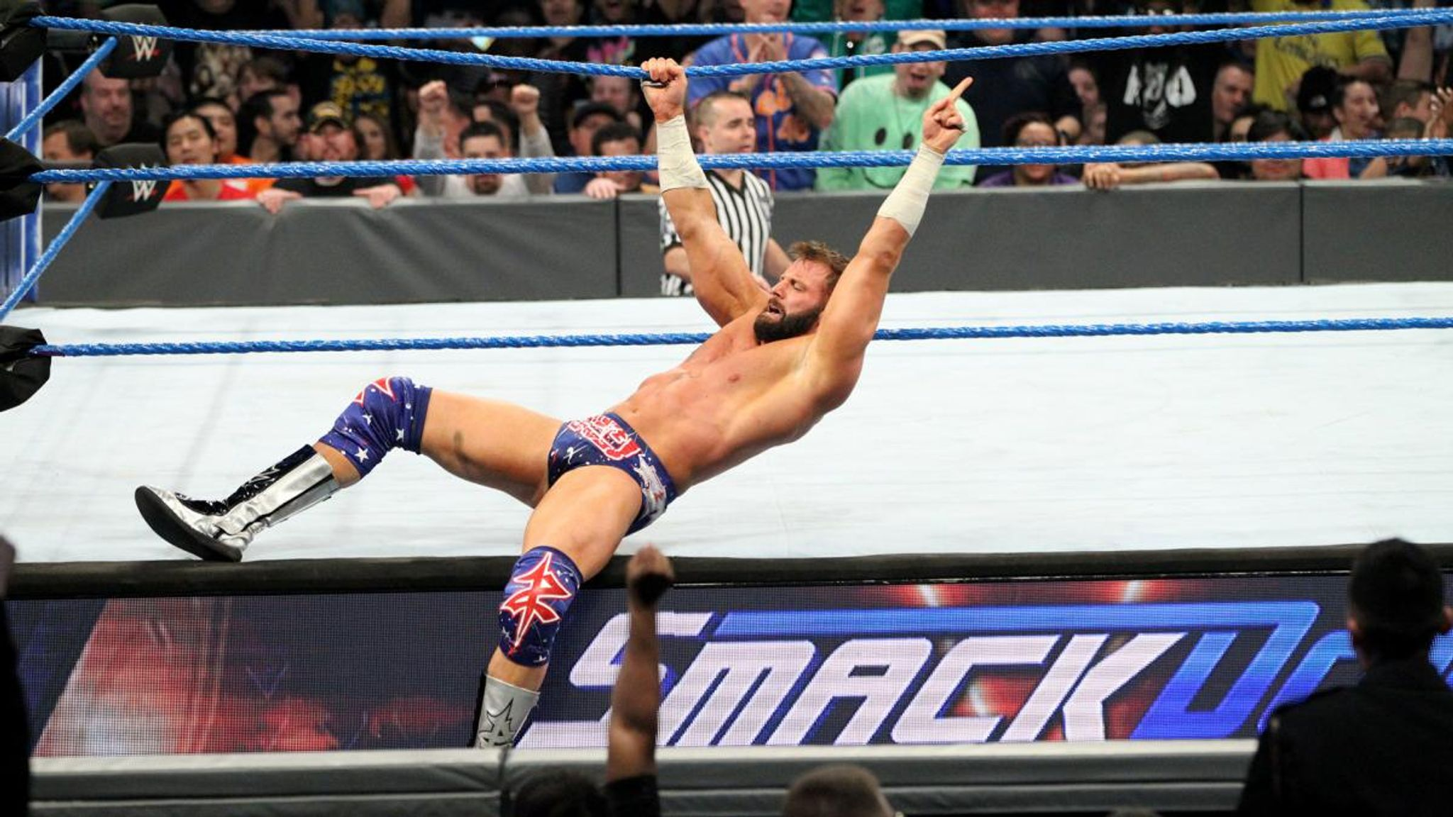 WWE: Smackdown's Zack Ryder out injured for 'six to nine