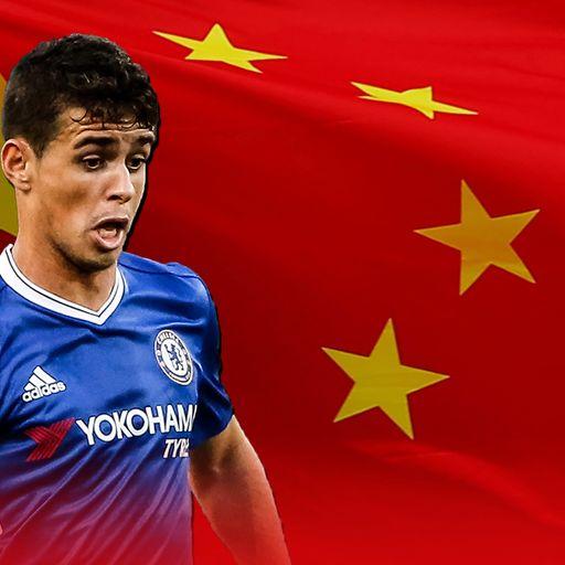 Why's Oscar leaving Chelsea?