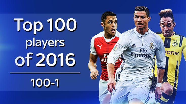 WhoScore.com Top 100 players of 2016