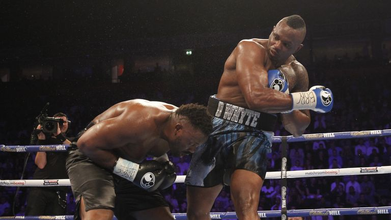 Dillian Whyte is back in action after his points win over Dereck Chisora in December