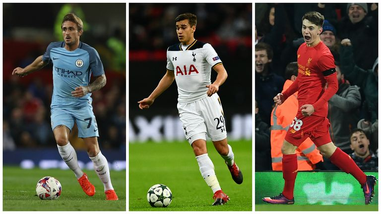 Aleix Garcia, Harry Winks and Ben Woodburn are among the youngsters to watch