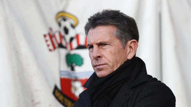 Claude Puel thinks he was right to make so many changes to his Southampton team against West Brom