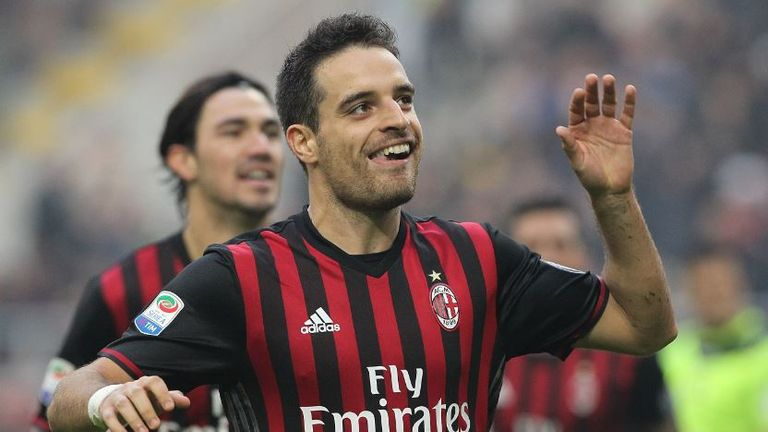 Italy midfielder Giacomo Bonaventura scored against Udinese at the weekend before being forced off with a season-ending thigh injury