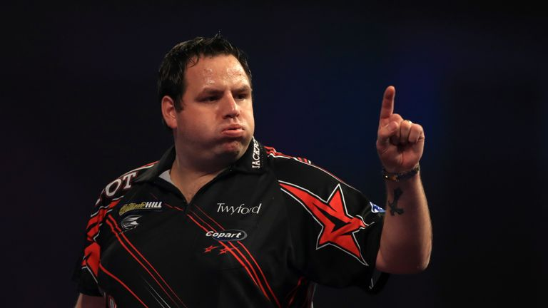 Adrian Lewis is one of several players to come close to a three-peat, falling at the semi-final stage in 2012 after back-to-back wins