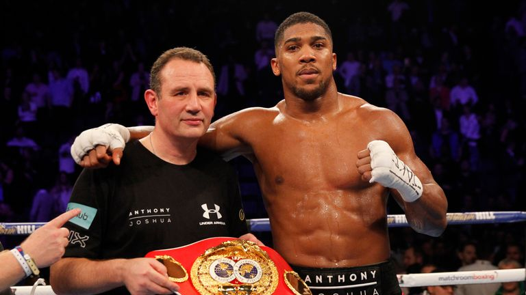 Trainer His Anthony Robert Mccracken Reveals How Joshua Criticised CBoxred