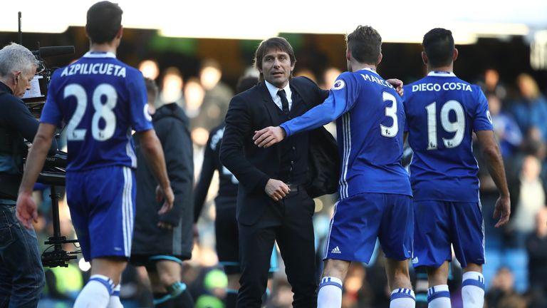 Jose Mourinho thinks Antonio Conte's Chelsea have already wrapped up the Premier League title