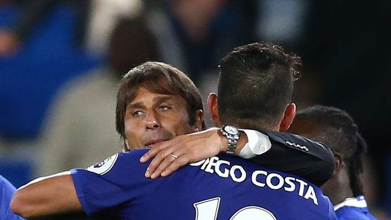 Chelsea have been unstoppable so far this season, with striker Diego Costa having scored 13 league goals