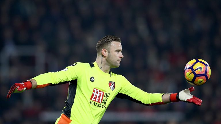 Boruc joined Bournemouth from Southampton in 2014