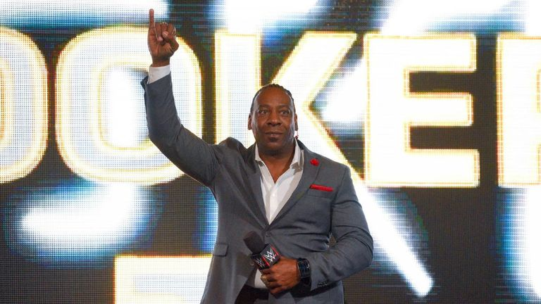 Booker T was inducted into the WWE Hall of Fame in 2013