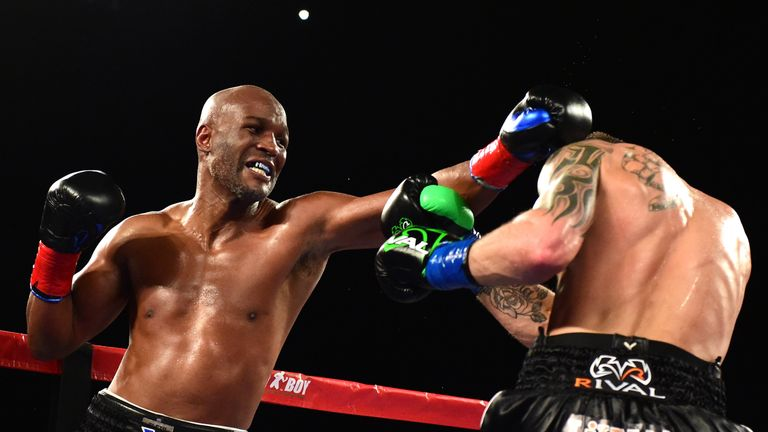 Bernard Hopkins was stopped by Joe Smith Jr in his farewell fight at the age of 51