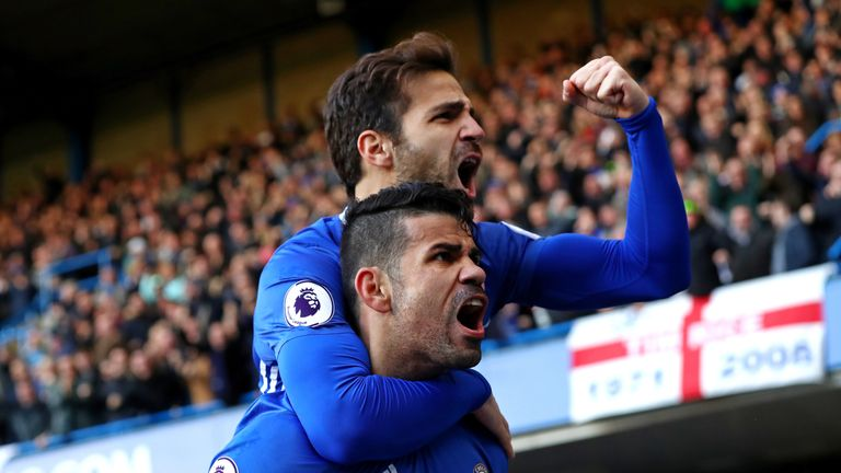 Chelsea have surged to the top of the Premier League after nine straight wins